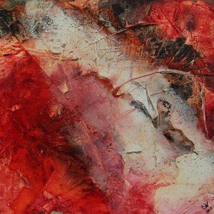 Quolls Kellerladen Bild in Acryl Lin-Art_Heike Hlinski_Ausstellung 10