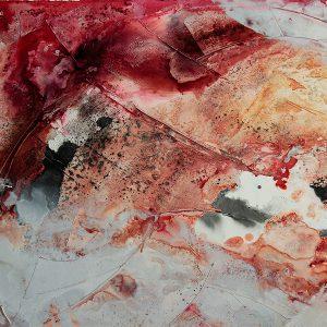 Quolls Kellerladen Bild in Acryl Lin-Art Heike Hlinski Austellung 01