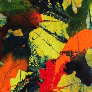 Quolls Kellerladen Bild in Acryl Lin-Art Heike Hlinski Austellung 07