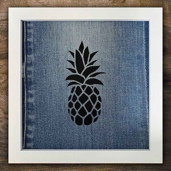 Quolls Klellerladen Geschenkartikel Bild Jeans Ananas